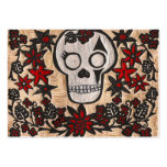 painted day of the dead large business cards (Pack of 100)