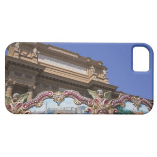 painted decorative carousel with pictures of case for the iPhone 5