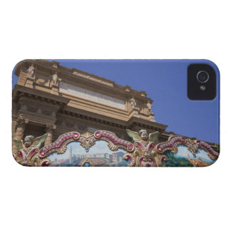 painted decorative carousel with pictures of Case-Mate iPhone 4 cases