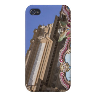painted decorative carousel with pictures of iPhone 4/4S cover
