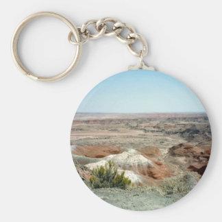 Painted Desert scene 08 Key Ring