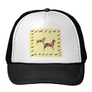Painted DOGS Gifts Pet Festival Xmas Diwali Cap