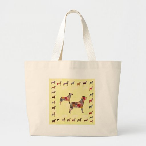 Painted DOGS Gifts Pet KIDS Festival Xmas Diwali Bags