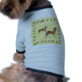 Painted DOGS Gifts Pet KIDS Festival Xmas Diwali Doggie Tee