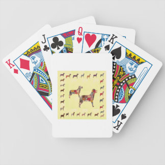 Painted DOGS Gifts Pet KIDS Festival Xmas Diwali Bicycle Poker Cards