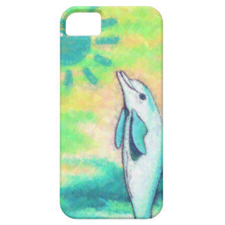 Painted Dolphin iPhone 5 Cases