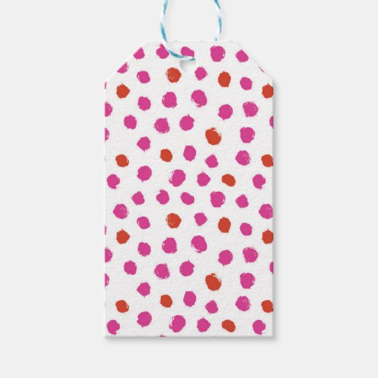 Painted Dots Gift Tags