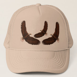 Painted Eagle Trucker Hat