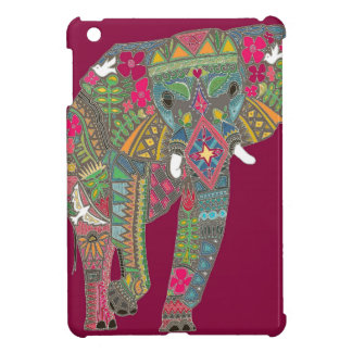 painted elephant pink cover for the iPad mini