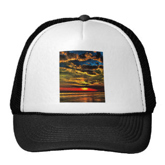 Painted Evening Sky Hat