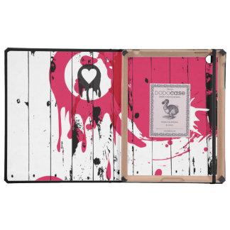 Painted Fence iPad Folio Case