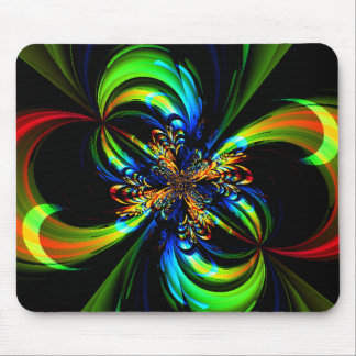Painted Flow Mouse Pad