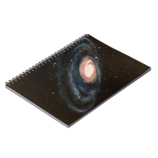 Painted Galaxy Notebook