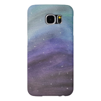 painted galaxy phone case