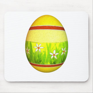 Painted Garden Easter Egg Mouse Pad