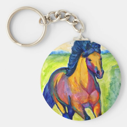 Painted Horse 2 Keychains