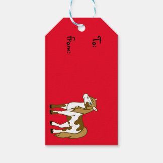 Painted Horse Gift Tags