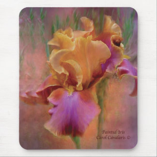 Painted Iris Mousepad