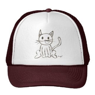 Painted Kitty Hat