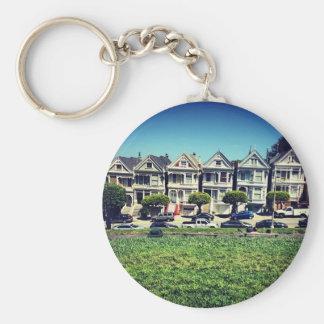 Painted Ladies Key Ring