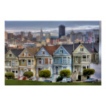 Painted Ladies of San Francisco California Poster