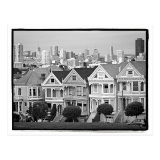 Painted Ladies Postcard