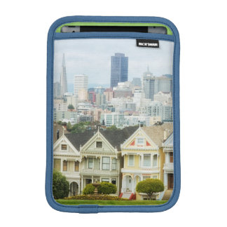 Painted Ladies, Victorian houses and skyline iPad Mini Sleeve