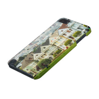 Painted Ladies, Victorian houses and skyline iPod Touch (5th Generation) Cases