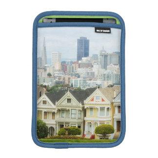 Painted Ladies, Victorian houses and skyline Sleeve For iPad Mini