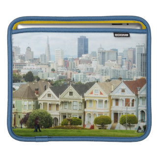 Painted Ladies, Victorian houses and skyline Sleeves For iPads