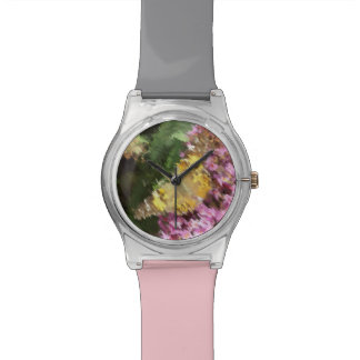 Painted Lady Butterfly Acrylic Effect Watch