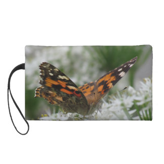 Painted Lady Butterfly Wristlet