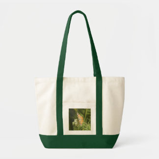 Painted Lady Butterfly Canvas Bag