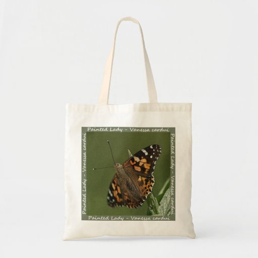 Painted Lady Butterfly Bag