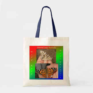 Painted Lady Butterfly Budget Tote Bag