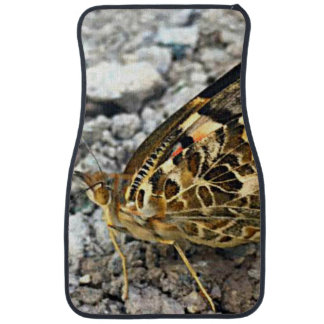 Painted Lady Butterfly Car Mat