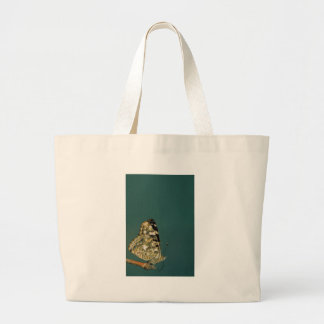 Painted Lady Butterfly Close-up Canvas Bag