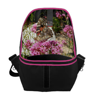 Painted Lady Butterfly Courier Bags