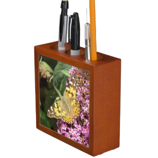 Painted Lady Butterfly Desk Organiser