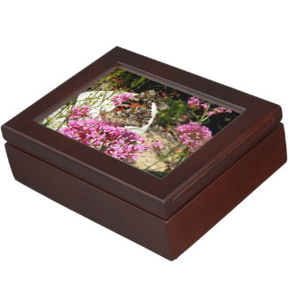 Painted Lady Butterfly Memory Box