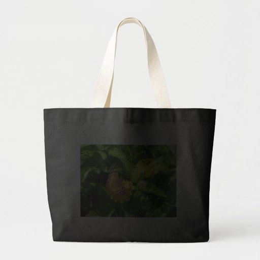 Painted Lady Butterfly on Lantana Bag
