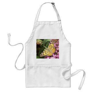 Painted Lady Butterfly Standard Apron