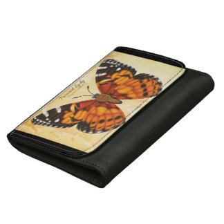 Painted Lady Butterfly Wallets