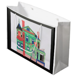 Painted Lady Large Gift Bag
