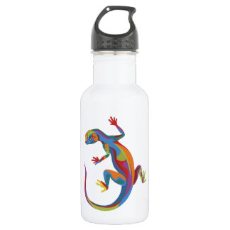 Painted Lizard 532 Ml Water Bottle