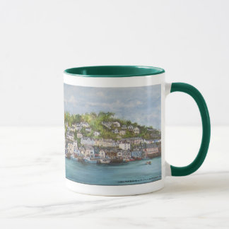 Painted Looe Mug by Kait Ballantyne