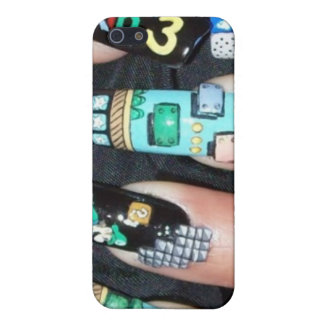 Painted Nails iPhone 5/5S Covers