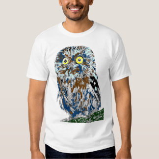 Painted owl shirts