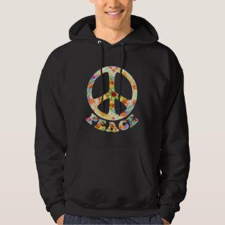 Painted Peace Dark Hoodies