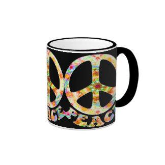 Painted Peace Mugs